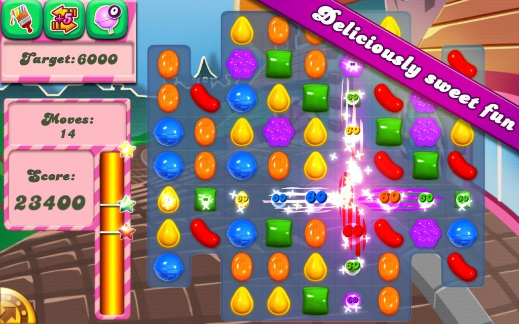 Candy Crush Saga for the Kindle Fire HDX