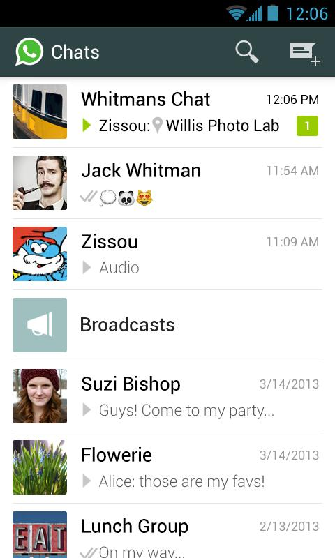 WhatsApp for the Kindle Fire HDX
