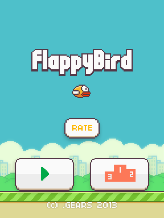 Flappy Bird for the Kindle Fire HDX